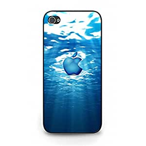 Fashion Design Luxury Apple Logo Cover Case for Iphone 5/5s Latest Smartphone Logo Series Phone Case