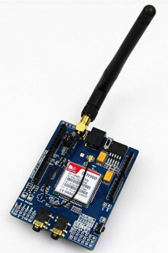 SIMCOM SIM900 Quad-band GSM GPRS Shield Development Board for Arduino ()