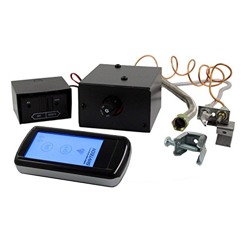 Skytech Manual On/Off Gas Valve Kit (AF-LMF-RD), On/Off Touch Screen Remote - Off Remote Safety Pilot