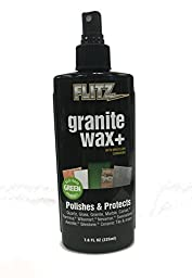 Flitz Granite Wax+ 7.6oz Spray Bottle
