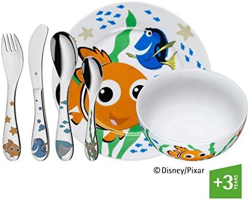 WMF Disney Buscando a Nemo - Vajilla para niños 6 piezas, incluye ...