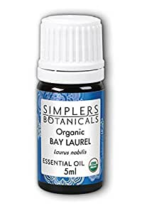 Essential Oil Bay Laurel Organic Simplers Botanicals 5 ml Liquid