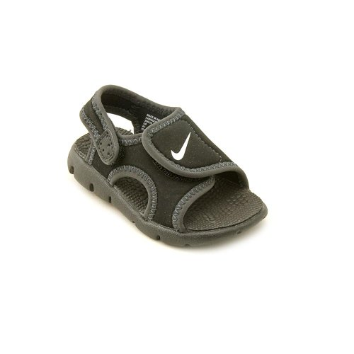 Nike Sunray Adjust 4 (Gs/Ps), Chanclas para Niños Negro (Black / White-Anthracite 011)