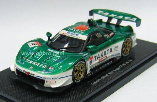 1/43 TAKATA DOME NSX スーパーGT500 2006 PHILIPS #18(グリーン×ホワイト) 「オートバックス SUPER GT 2006シリーズ」 43799