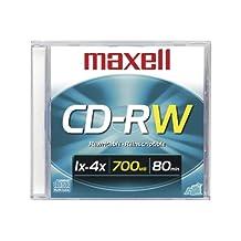 1pk CD-Rw 700mb Slim Jewel Case
