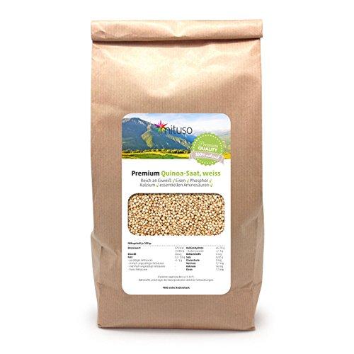 Mituso Quinoa Samen weiss, 1er Pack (1 x 1 kg)
