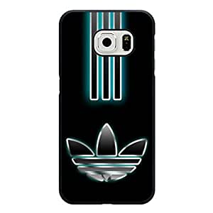 Simple Glamorous Luxury Cover Case Adidas Logo Phone Case for Samsung Galaxy S6 Edge Adidas Pattern Cover Shell