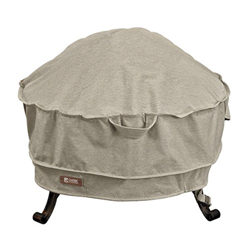 Classic Accessories 55-667-016701-RT Montlake FadeSafe Full Coverage Round Fire Pit Cover, 30-inch For Sale