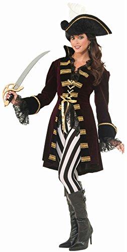 Forum Novelties Women's Captain Morgana Costume, Multi,