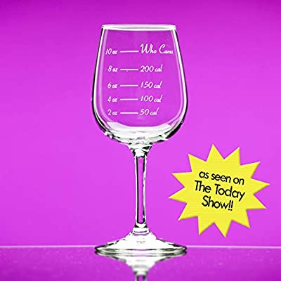 Caloric Cuvee - The Calorie Counting Wine Glass