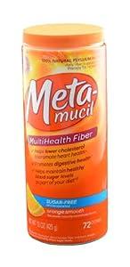 Metamucil Psyllium Fiber Smooth Texture Sugar Free Powder Canister