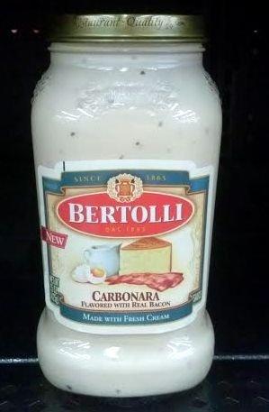Bertolli Carbonara Sauce (3 Pack) (Carbonara Pasta)