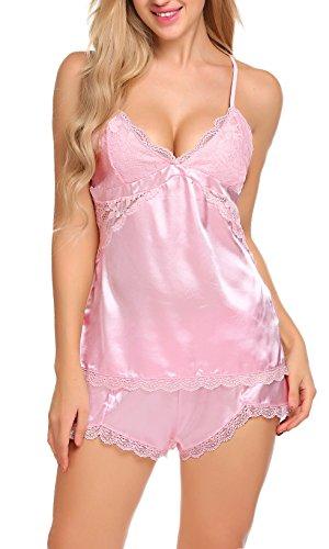 ADOME Pink da Camicia Donna notte qwxw8XZF