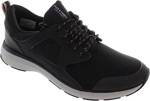 Jack & Jones  Jfwhatton Reflective, Chaussures de running pour homme noir noir