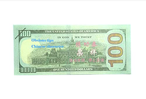 AL'IVER Prop Money Copy Money $10000 Fake Money Play Money