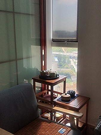 Acyung Store enrouleur /à ventouse pour fen/être Protection solaire Store occultant Protection solaire Sans per/çage 40 x 60 cm