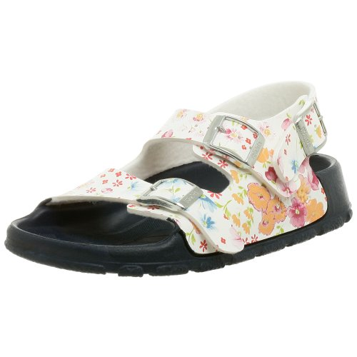 Birki's Aruba Sandal (Toddler/Little Kid/Big Kid),Magic Flower White,24 N EU (6 N US Toddler)