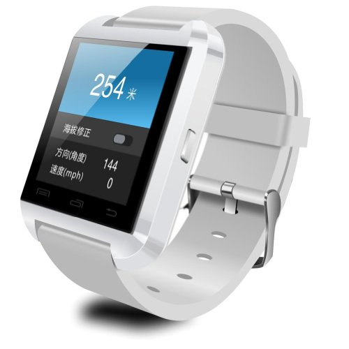 U8 Bluetooth Smart Watch Phone WristWatch for IOS Android iphone/Samsung/HTC (White) - 7