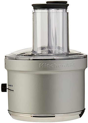 KitchenAid KSM2FPA Food Processor Attachment with Commercial Style Dicing ()