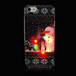 Buy Snow Snowman Style Grind Arenaceous with Flash Back Case for iPhone 5/5s