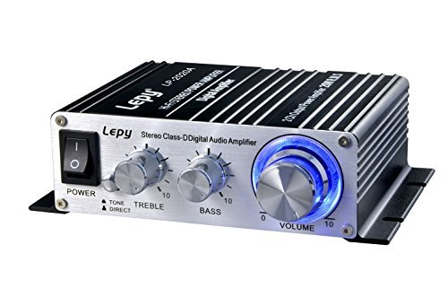 Find Bargain Lepy Amplifiers Audio Component Amplifier, Black (LP-2020A Class-D)