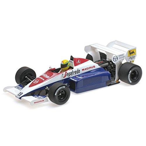 Toleman Hart TG 184, No.19, formula 1, GP Monaco, 1984, Model Car, Ready-made, Minichamps 1:18 -