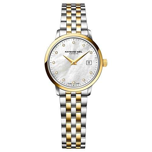 Raymond Weil 5988-STP-97081 Ladies Toccata Two Tone Steel Diamond Watch