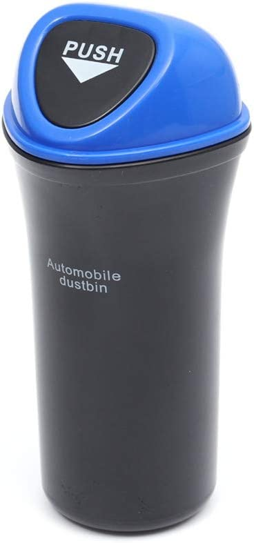 2 Pack, Black Beetoo Vehicle Automotive Cup Holder Garbage Can Mini Car Trash Bin Small Office Trash Garbage Can for Car Door