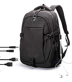 Wearslim Waterproof Anti Theft Laptop Bagpack - with USB charging    Listening port Boy Men Women 3dea95f19baed