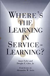 Where's the Learning in Service-Learning?