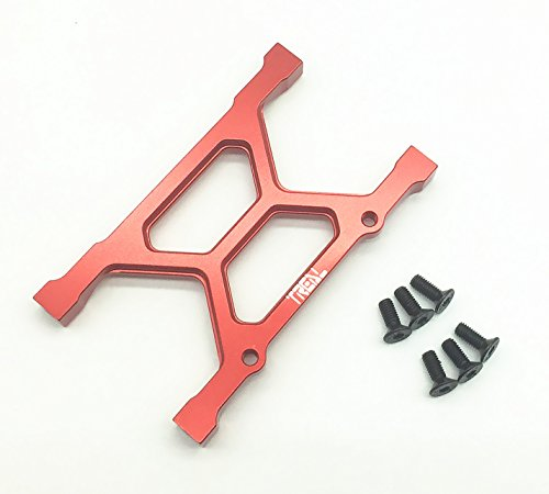 (Treal Aluminum CNC Machined Main Chassis Brace for Axial SCX10 1:10 RC Car)