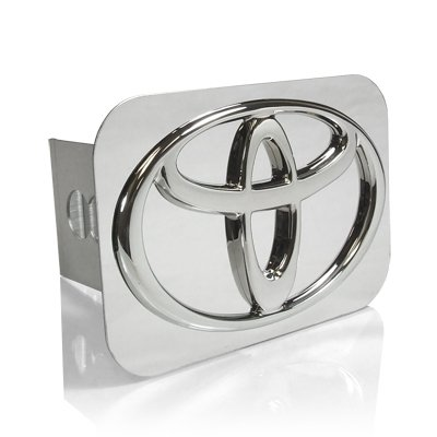 TOYOTA Chrome Logo Tow Hitch Cover by TOYOTA