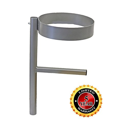 5 Gallon Bucket Holder (Mill Finish) 5 Gallon Bucket Holder