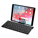 Best MoKo Tablet Computers - MoKo Bluetooth Keyboard, Ergonomic Ultra-Slim Wireless Computer Keyboard Review