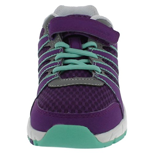Clarks para dardos de Cruz ropa de descanso para niñas zapatillas de diseño de palabra en Inglés púrpura - morado