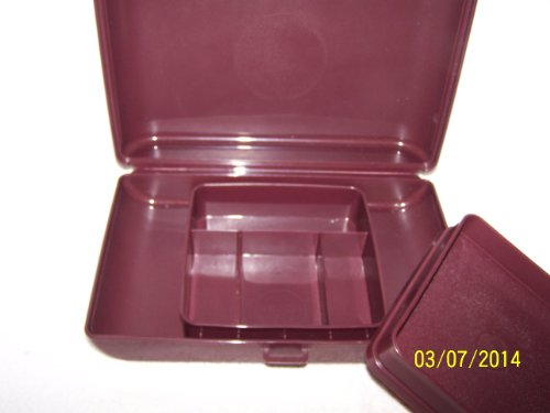 tupperware-valet-case-with-removeable-tray-brown