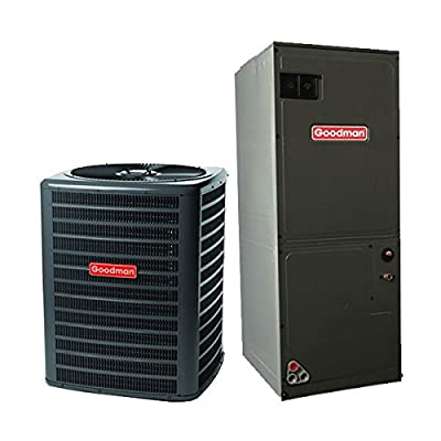 Goodman 2.5 Ton 14 Seer Heat Pump System with 2 Ton Multi-Position Air Handler GSZ140301 - ARUF29B14