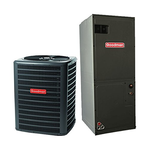 Goodman 3.5 Ton 15 Seer Heat Pump System with Multi Position Air Handler