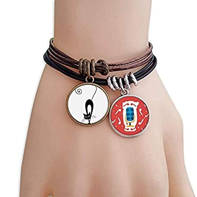 SeeParts Walking Black Cat Halloween Animal Bracelet Rope Wristband Microphone Sing Gift Estimated Price £9.99 -