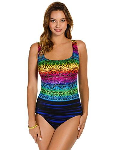 Longitude Swimwear Acapulco X Back Tank One - Piece One Longitude