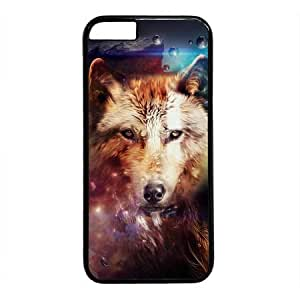 Abstract Design of Wolf Black Sides Hard Shell Case for Iphone6 (4.7 inch) by Sakuraelieechyan by ruishername
