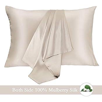Amazon Com 100 Mulberry Silk Pillowcase Pure 21 Momme
