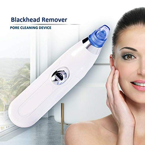 HEMIZA Zamkar Trades Blackhead Remover Pore Vacuum Suction Pimple Extractor Skin Care Facial Cleaning Tool for Women and Men