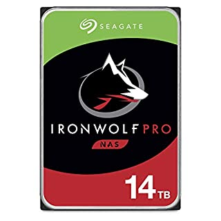 Seagate IronWolf Pro 14TB NAS Internal Hard Drive HDD - 3.5 Inch SATA 6Gb/s 7200 RPM 256MB Cache for RAID Network Attached Storage, Data Recovery Service - Frustration Free Packaging (ST14000NE0008) (B07H57WY2Z) | Amazon price tracker / tracking, Amazon price history charts, Amazon price watches, Amazon price drop alerts