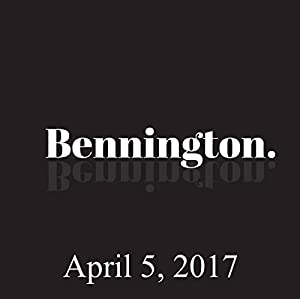 Bennington, Robbie Robertson and Chad Zumock, April 5, 2017 Radio/TV Program