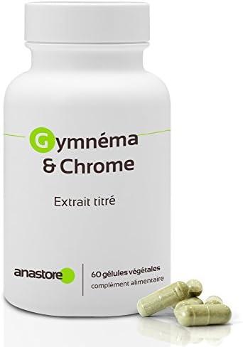 Gimnema y Cromo* 400 mg / 60 cápsulas * Ácido gimnémico 100 mg ...