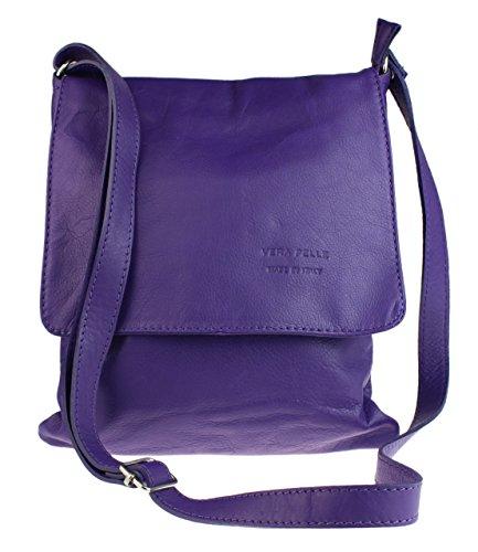 Girly Handbags Renata - Bolso Bandolera Mujer - morado oscuro