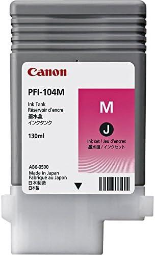 Original Canon 3631b001 Pfi 104m Für Imageprograf Ipf 755 Premium Drucker Patrone Magenta 130 Ml Bürobedarf Schreibwaren