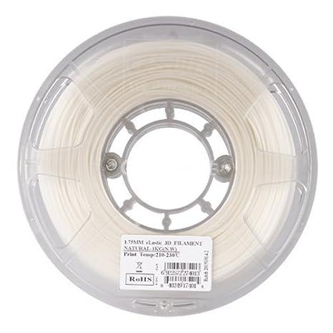 Esun elástica TPE 3d impresora filamento de 1,75 mm bobina de 0.5 ...