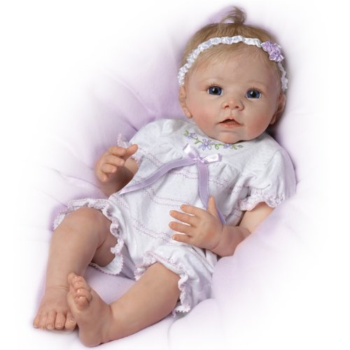 Chloe's Look Of Love Turns Her Head from Side to Side! - So Truly Real® Lifelike, Interactive & Realistic Newborn Baby Doll 22-inches by The Ashton-Drake Galleries by The Ashton-Drake Galleries